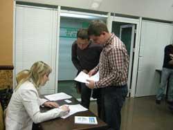 Регистрация участников совместного семинара компаний ЭМИС и Корвет
