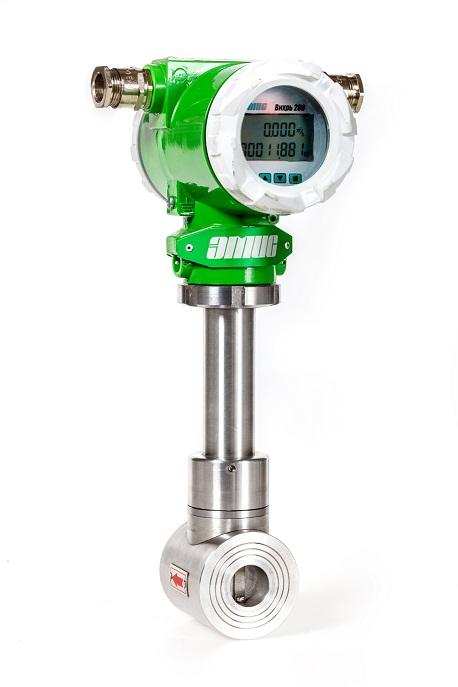 Вихревой расходомер ЭМИС-ВИХРЬ 200 с новой электроникой v8