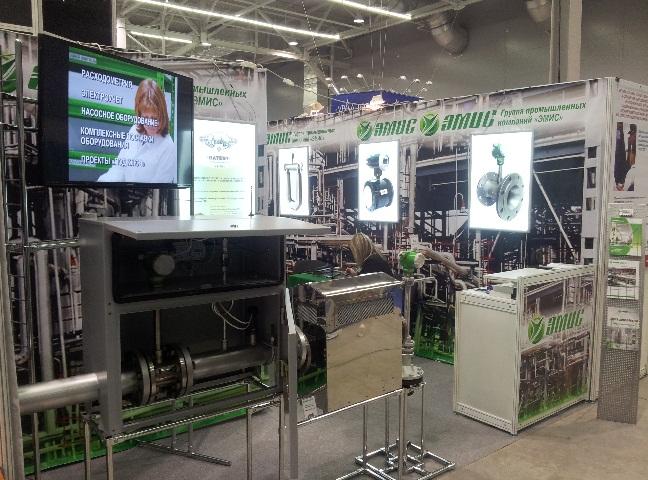 Наибольший интерес на выставке и семинаре вызвал узел учета энергоносителей «ЭМИС-ЭСКО 2210» с автономным источником питания